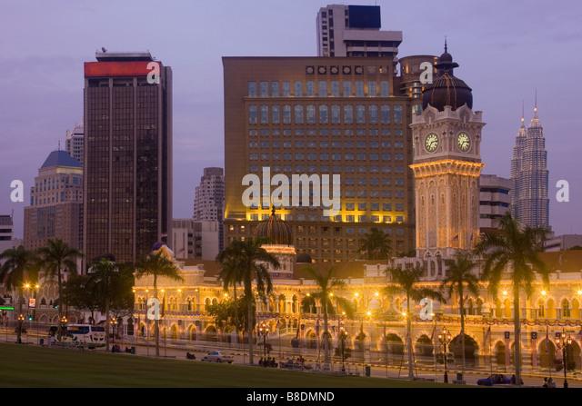 Sultan abdul samad building kuala lumpur - Stock Image
