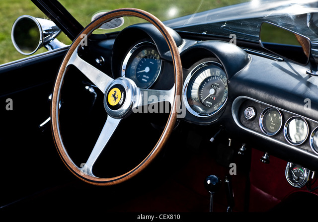 ferrari interior stock photos ferrari interior stock images alamy. Black Bedroom Furniture Sets. Home Design Ideas