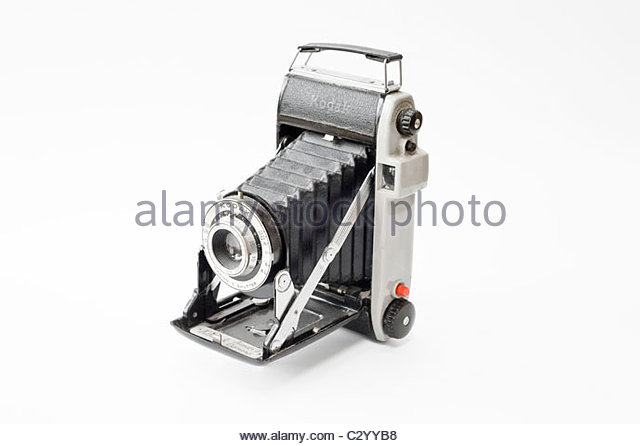 1950s Kodak Junior II Camera - Stock Image
