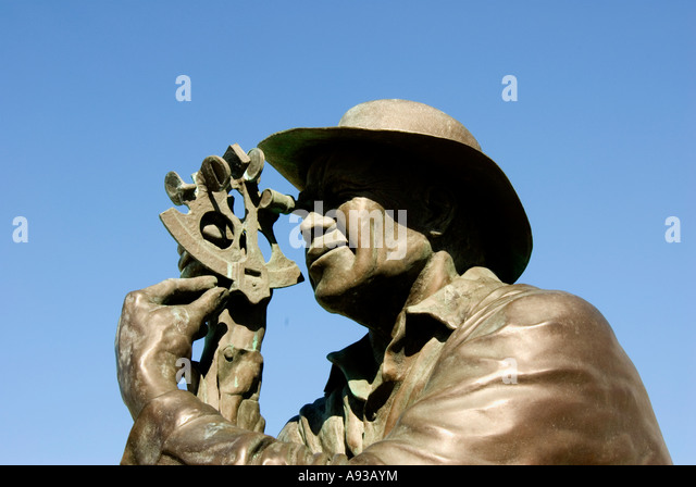 George Town Grand Cayman Heroes Square 'Tradition' statue - Stock Image