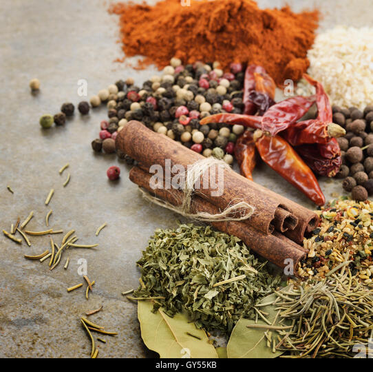 Spices - Stock Image