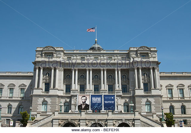 Library of Congress in Washington DC - Stock-Bilder