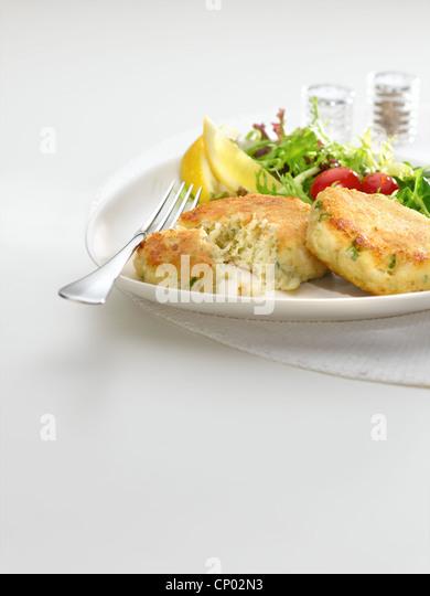 Fish Cakes - Stock Image