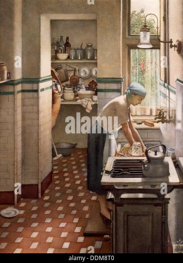 Woman Housework 1950s Stock Photos Amp Woman Housework 1950s