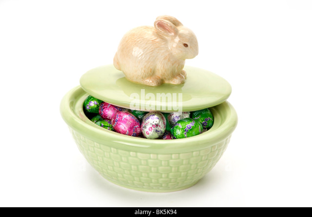 easter items - Stock Image