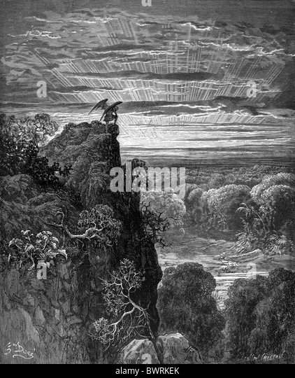 satan in paradise lost Paradise lost: paradise lost, epic poem in blank verse, one of the late works by john milton, originally issued in 10 books in 1667 and, with books 7 and 10 each.