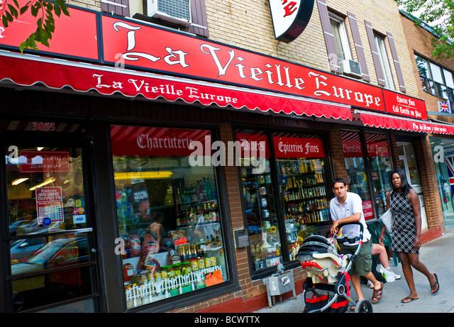 Boulevard Saint laurent Montreal canada - Stock Image