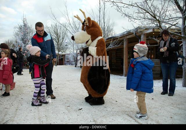 Lapland Reindeer Family Stock Photos & Lapland Reindeer Family Stock ...