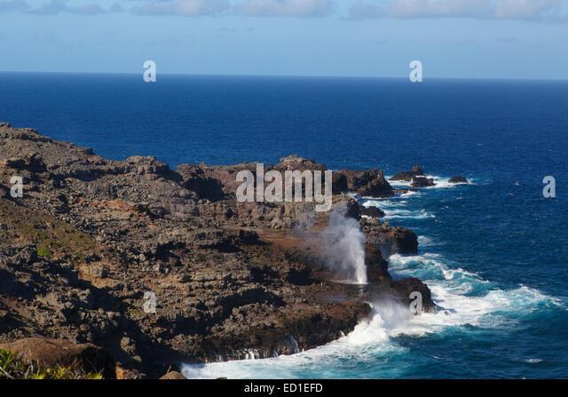 Nakalele Point Maui Island Hawaii Usa