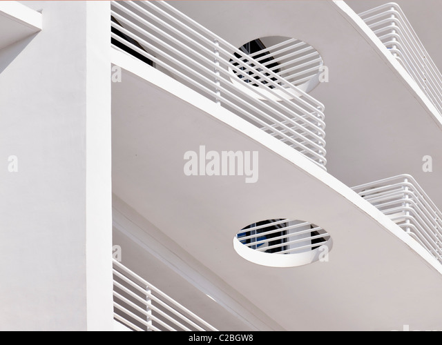 The Strand Hotel, South Beach, Miami - Stock Image