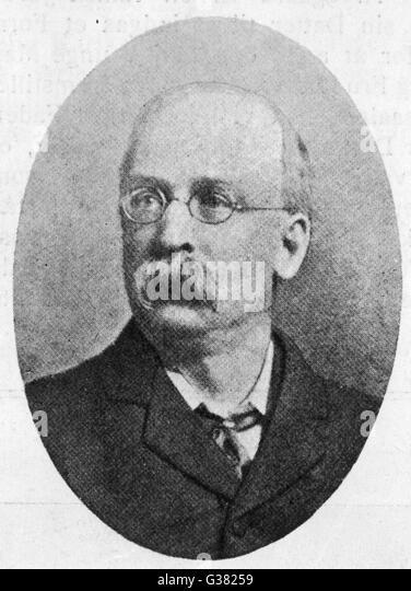 EBENEZER HOWARD  Reformer and originator of the concept of the garden city      Date: 1850 - 1928 - Stock Image