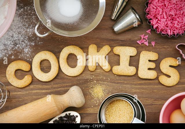 Cookies - Stock Image