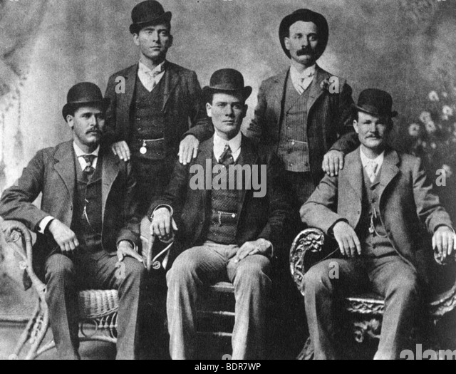 The Wild Bunch, American outlaw gang, 1901 (1954). - Stock Image
