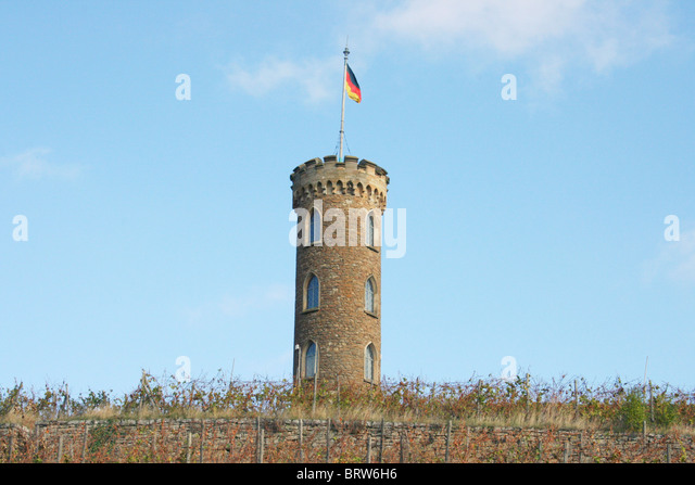 Tower in the vineyard - Stock-Bilder