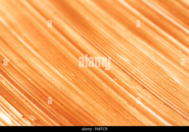 detail of chocolate spread daub backgrounds - Stock Image