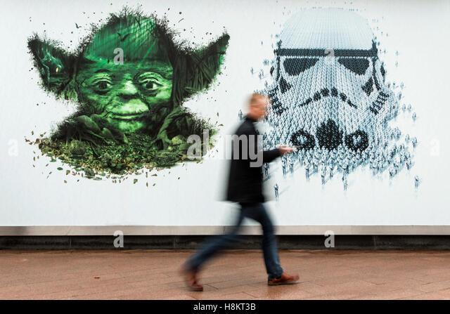 London, UK. 15 November 2016. The groundbreaking exhibition Star Wars Identities explores the complex notion of - Stock Image