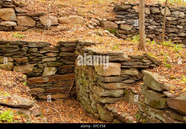 Foundation wall stock photos foundation wall stock images alamy for Garden barn vernon ct