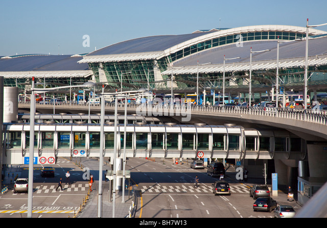Incheon International Airport in Seoul South Korea - Stock Image