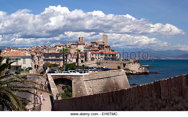 Antibes, Alpes-Maritimes - Stock Image