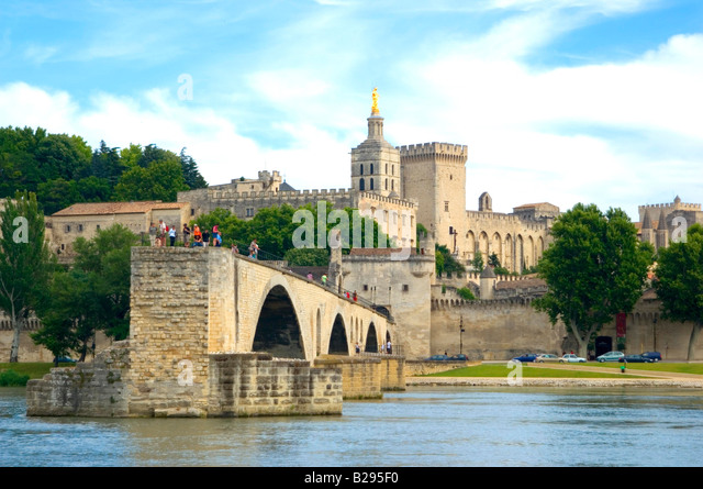 bridge of avignon stock photos bridge of avignon stock images alamy. Black Bedroom Furniture Sets. Home Design Ideas