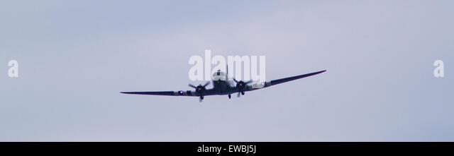The Douglas C-47 Dokata at RAF Cosford Airshow - Stock Image