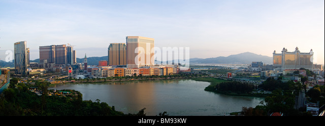 Macau Casinos - Stock Image