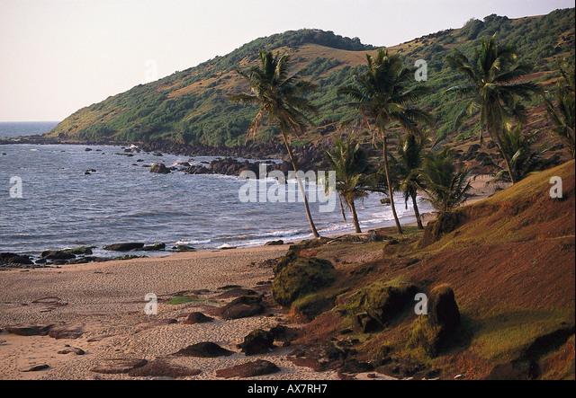 Anjuna Beach, Goa, Indien - Stock-Bilder