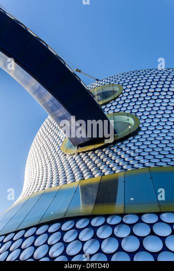 Bull Ring Elevated Walkway, Birmingham, West Midlands, England - Stock Image