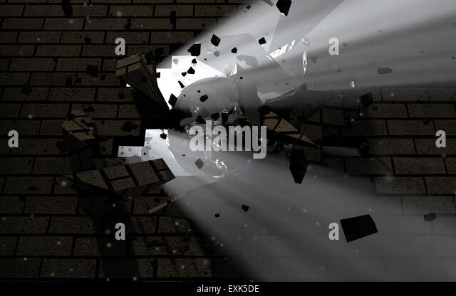 Wrecking Ball Wall Stock Photos Amp Wrecking Ball Wall Stock