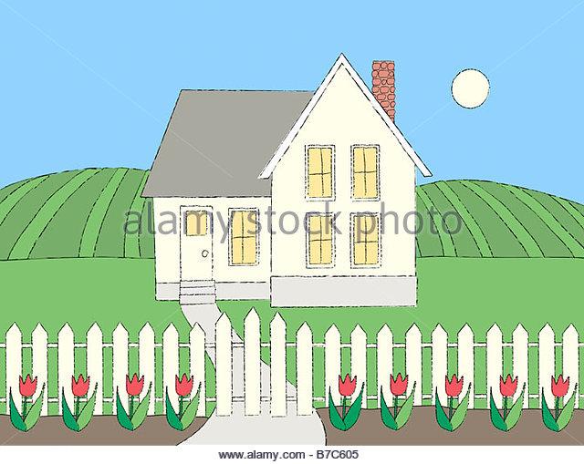 Farm Household - Stock-Bilder