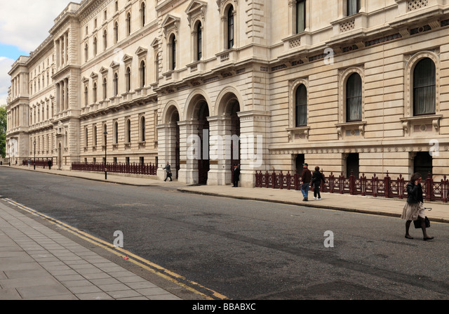 The Foreign and commonwealth office, London. - Stock Image