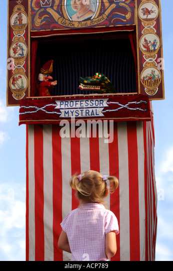 PUNCH AND JUDY show - Stock-Bilder