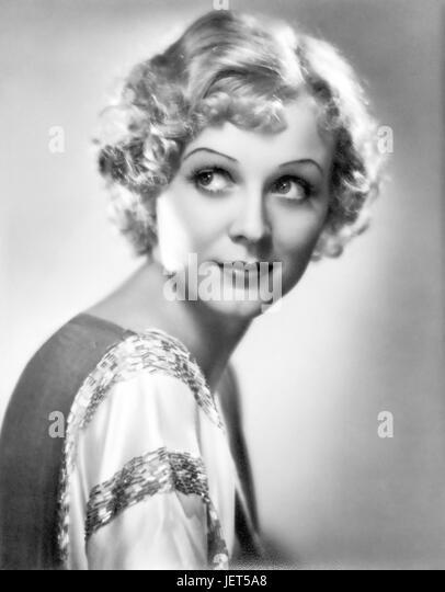 GLORIA STUART (1910-2010) US film actress about 1933 - Stock-Bilder