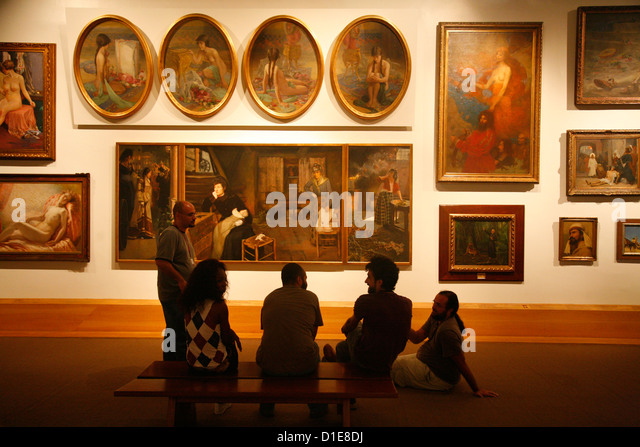 Pinacoteca do Estado (State Art Gallery), Sao Paulo, Brazil, South America - Stock Image