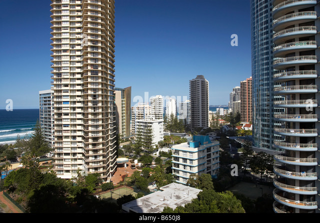 Peninsula and Aegean Resorts Surfers Paradise Gold Coast Queensland Australia - Stock-Bilder