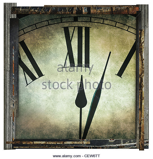 time artwork - Stock Image