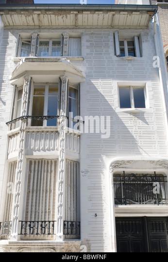 Paris Architektur von Hector Guimard Paris Architecture by Hector Guimard - Stock-Bilder