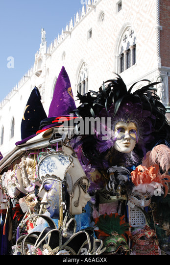 Carnival Venice, Italy, Europe. Photo by Willy Matheisl - Stock Image