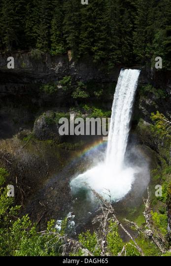 Brandywine Falls Provincial Park, Whistler, British Columbia, Canada - Stock Image