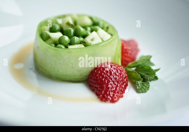 Pea starter - Stock Image