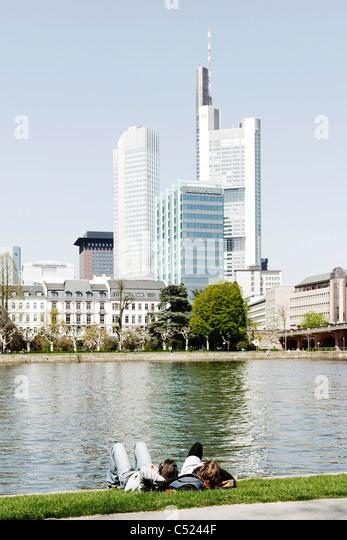Frankfurt am Main, Hesse, Germany, Europe, Hessen, Deutschland - Stock Image