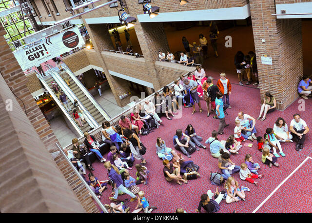 The ALLES GUT! Festival in Gasteig in Munich, 2012 - Stock Image