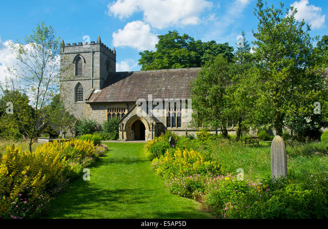 Kettlewell Yorkshire Dales National Park Stock Photos ...