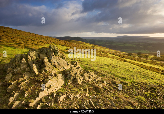 Long Mynd, Shropshire, England, Great Britain. - Stock-Bilder