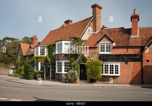 Streatley United Kingdom  City new picture : The Miller of Mansfield Pub in Goring on Thames Oxfordshire Uk Stock ...