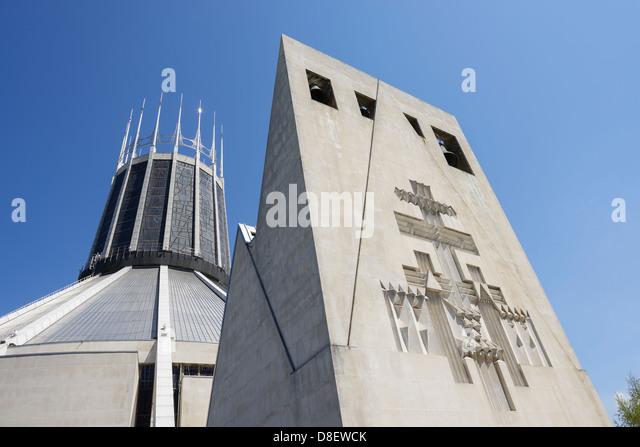 Liverpool Metropolitan Roman Catholic Cathedral - Stock-Bilder