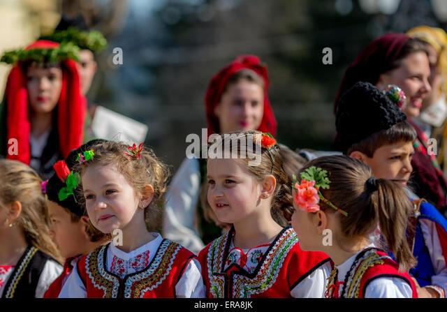 Bulgarian Folk Dancers Stock Photos & Bulgarian Folk ...
