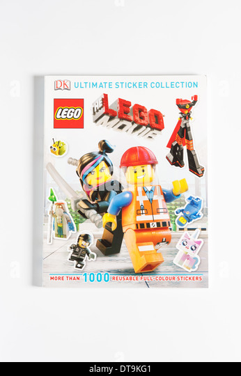 Lego Movies Sticker Book - Stock Image