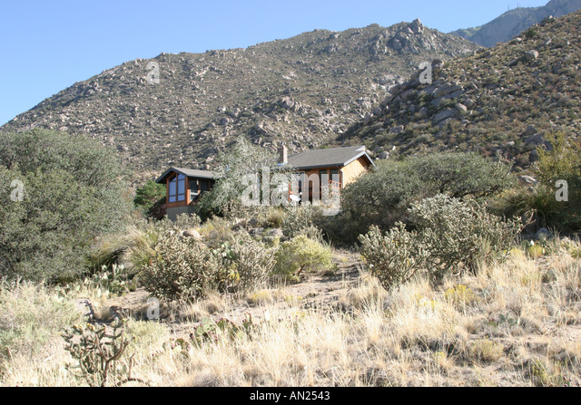 New Mexico Albuquerque Sandia Heights - Stock Image