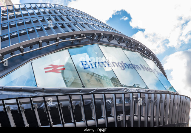 The construction of Birmingham New Street train station, Birmingham, England - Stock Image